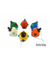 6 x LEGO® kerstbal