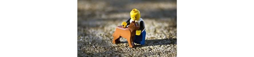 Steine für Tiere. LEGO